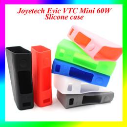 Evic vtc en Línea-Colorido Evic VTC Mini 60W Funda de Silicona Funda de Caucho de Protección Silicona Gel de Piel para Evic VTC Mini 60W TC Caja Mod