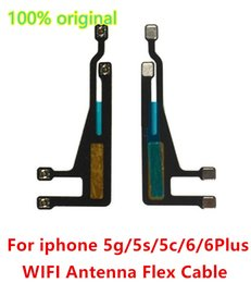 Wholesale 100 Genuine For iphone6 WIFI Wi Fi Signal Antenna Aerial Ribbon Cable Flex Replacement for iphone g s c Plus