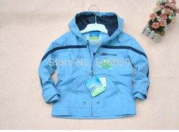 Wholesale Germany Topolino boys jacket baby waterproof hooded windbreaker children s wear windproof outdoor clothing