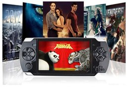 "4.3"" LCD Game Console With REAL 4GB 8GB MP5 Player Built-in 3000 Games Voice Recorder Camera TV-Out Handheld Game Player"