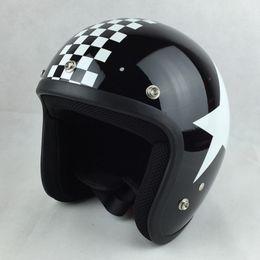El envío libre 2016 VESPA casco casque capacete casco de la motocicleta de la vendimia cara descubierta S M L XL XXL Piloto de moto Racing Cascos desde cascos de carreras de la vendimia fabricantes
