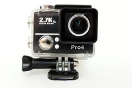 Pc hd en Ligne-Gopro Hero 4 Type Sport Go Pro Style Caméra Haut 4K Full HD 1080P Avec WIFI G560 Contrôle Téléphone Tablette PC 30 mètres Appareils photo étanches