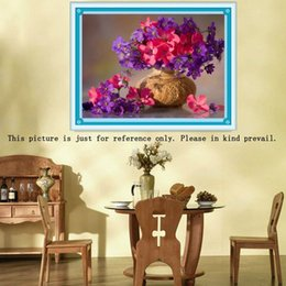 DIY Colorful Flowers Pattern Resin Rhinestone Pasted Cross Stitch Home Decor Handmade Full Drill Diamond Embroidery Painting Set