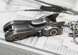 Wholesale 10pcs Super Hero Batman Dark Knight Bat Car Keychain The wheel Key Ring For Fashion Men Children Gift Movie Jewelry