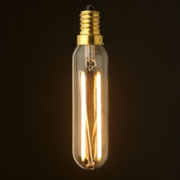 Wholesale T25 W W LED Filament Bulb Replacement With W W Traditional Lamp E12 E14 Base Warm White Dimmable