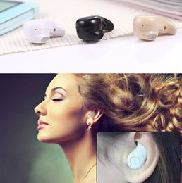 Mini Bluetooth Earphone Stereo Light Wireless Invisible Headphones S530 Super Headset Music answer call For Samsung Iphone LG US01