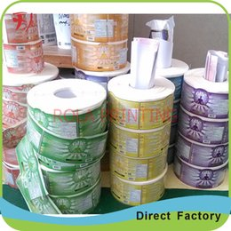 Customized custom adhesive packaging label self adhesive sticker label, labels for plastic bottles, shampoo label