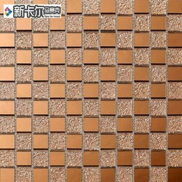 Wholesale Carl brown drill face new crystal glass mosaic art puzzles building materials for wall tile stickers