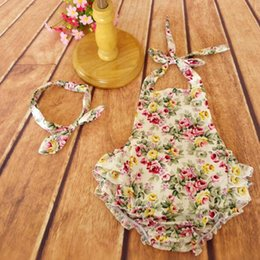 romper girl baby cotton baby clothes floral bubble romper newborn toddler outfit floral romper girls outfit