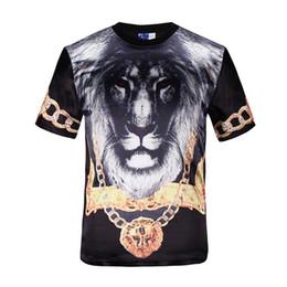 Wholesale 2015 New Mens Summer Tops Tees Short Sleeve t shirt Man Plus Size Start Printed Cotton t shirt Men Brand D Designer Clothing gold medal Tig