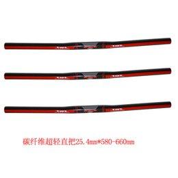 TAT carbon MTB bicycle handlebar mountain bike flat handlebars 25.4mm 580 600 620 640 660mm cycling parts