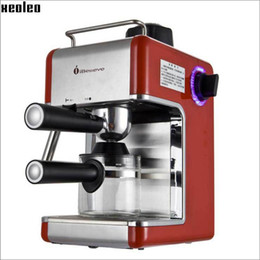 Wholesale Xeoleo espresso Coffee Maker CM6812 italy Coffee machine iBelieve Coffee make machine Semi automatic coffee maker home use
