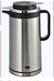 Wholesale Peskoe hemisphere TDX C08 insulation electric kettle L Kettle off anti hot home package