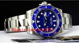 Wholesale Factory Supplier Luxury Watches Blue Dial CERAMIC Bezel Automatic Sport Mens Watch Men s Wrist Watches