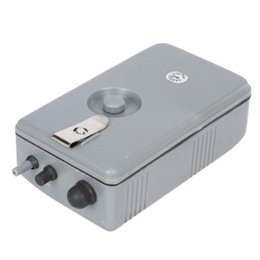 Wholesale Portable Battery Operated Fish Tank Aquarium Air Pump Grey US Fast Shipping order lt no track