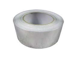 Wholesale Strong Reliable Aluminium Foil Tape mm m Roll Ideal For Heat Reflection