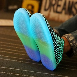 Led Luminous Shoes 2016 Casual Shoes Led Shoes For Men Fashion LED Lights Up Shoe For Adult Chaussure Lumineuse
