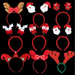 Christmas Party Hats Christmas Head Band Christmas decorations Gifts for Children The Party Must Snowman Deer Father Christmas