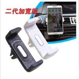 Wholesale Automobile air conditioning outlet cellular phone support Car navigator bracket Suitable for a variety of electronic products