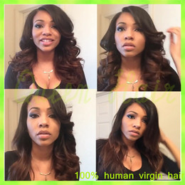Beauty 8A Brazilian Virgin Hair Long Wavy Full Lace Human Hair Wigs Brazilian Lace Front Wigs For Black Women,Free Shipping