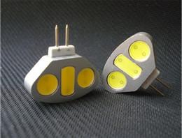 12pcs Super Brigth G4 conduit lampe downlight G4 LED ampoule 4b haute puissance 12v dc blanc blanc chaud G4 conduit Lampes Livraison gratuite à partir de g4 blanc bulbe fournisseurs