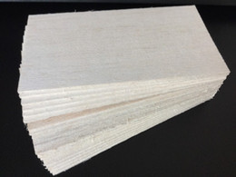 Wholesale Best Quality The Lightest Woods balsa wood sheets x100x1mm for Model Maker Airplane Make Material