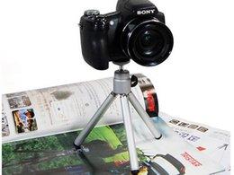 2017 soportes de cámaras digitales Venta al por mayor Mini móvil celular inteligente teléfono cámara trípode Stand para cámara digital Webcam móvil DV soportes de cámaras digitales en oferta