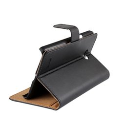 For LG L80 Texture Genuine Wallet Leather Case Cover