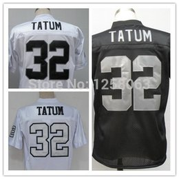 Wholesale Factory Outlet Christmas Clearance Sale Jack Tatum White Black Men s Throwback Football Jerseys Size Mix order