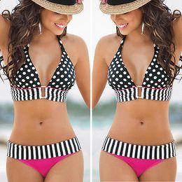 w1028 Sexy Swimwear Womens Swimsuit Bikini Set Push-Up Padded Beachwear Bathingsuit