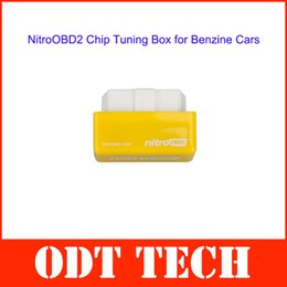 Wholesale Best Plug and Drive NitroOBD2 Performance Chip Tuning Box for Benzine Cars with English User Manual