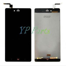 Wholesale-Black LCD Display + Touch Screen Digitizer Assembly Replacements For ZTE Nubia Z9 Max NX510J NX512J +Free tool