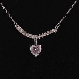 Wholesale Limit buy New Promotions Beautiful Heart Long Chain Necklace Women Classic Fashion Elegant Jewelry
