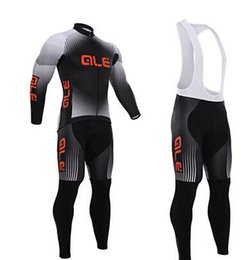 Wholesale-2015 HOT winter Fleece cycling jersey long sleeve Cycling clothing wear & bib Pants Set winter thermal fleece cycling