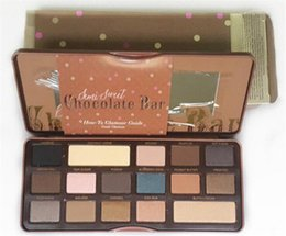 Wholesale Too faced Chocolate bar colors makeup professional eyeshadow Palette in Makeup eyeshadow factory direct