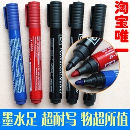 Wholesale-Marker oil pen hook line lyrate marker pen permanent marker free shipping