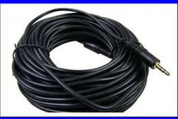 Accessoires audio portables à vendre-HOT- 2pcs Audacieux 15 mètres 3.5 interfaces Câble audio M / M Accessoires d'ordinateur M M câble de cuivre de haute qualité