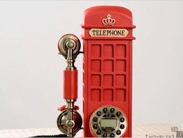 Wholesale classic Rustic antique telephone vintage telephone fitted fashion novelty retro corded desk phone