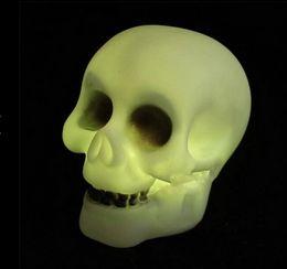 200 pcs lots new Bar Club Night light Halloween skeleton pumpkin smile face colorful camping garden light