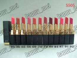 Wholesale Factory Direct DHL New Makeup Lips Rough Shine Lipstick g