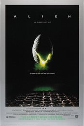 Wholesale 23 quot X35 quot inch Alien Movie Poster Custom ART PRINT Silk cloth