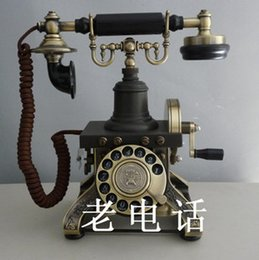 Wholesale Retro old vintage fashion Paramount Eiffel Tower Rotary Dial Antique Telephone Authentic Guaranteed