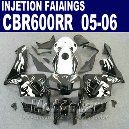 Cheap Injection fairings kit for HONDA CBR 600 RR 2005 2006 cbr600rr 03 04 cbr 600rr motorcycle fairing kits YX5H