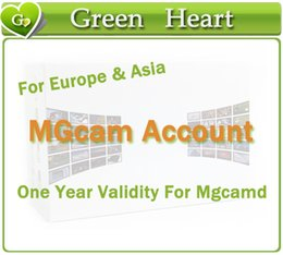Wholesale 5pcs Mgcam account IKS account Mgcam Server year validity free trial support MGCAMD Receiver