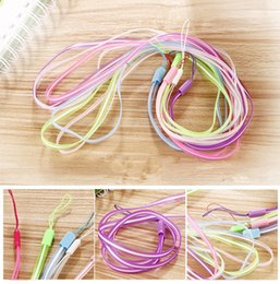 Universal colorfull Lanyards Neck Lanyard Long Straps silicone Hang Rope for MP3 Mp4 ID Holder Mobile Phone Cellphone