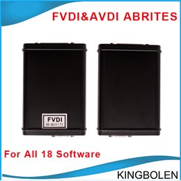 Wholesale FVDI ABRITES Commander Full Version with software activated for VAG for BMW For Opel For Toyota For Ford etc software DHL Free