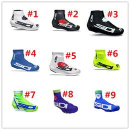 Wholesale Outdoor SI DI Brand Cycling Shoe Cover Full Zip MTB Bike Shoe Cover Pro Road Racing Bicycle Shoe Covers For Man Women