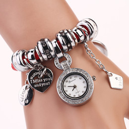 2015 fashion chain around lady wristwatch new electronic style women dress watches rhinestone casualwatches XR647 lady girl gift