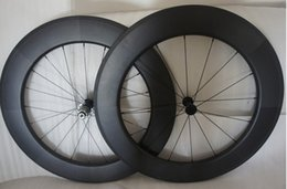 2016 Road Bicycles clincher carbon wheels 700c 88mm carbon road wheels best quality free shipping
