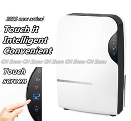 Wholesale electric refrigerative dehumidifier for home air dryer machine moisture absorb water intelligent deshumidifier touch screen